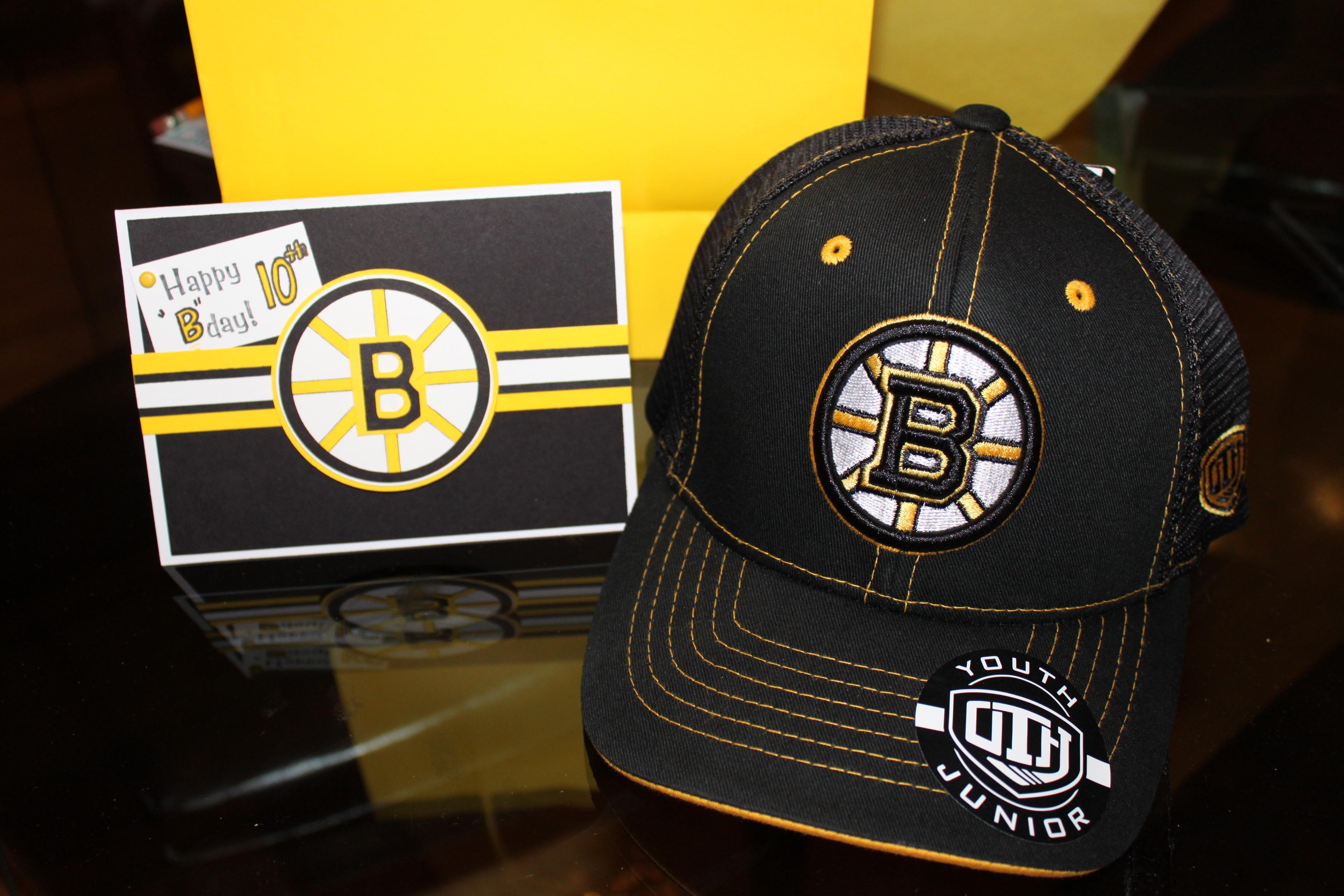 Boston Bruins Birthday Card Cindy Roy